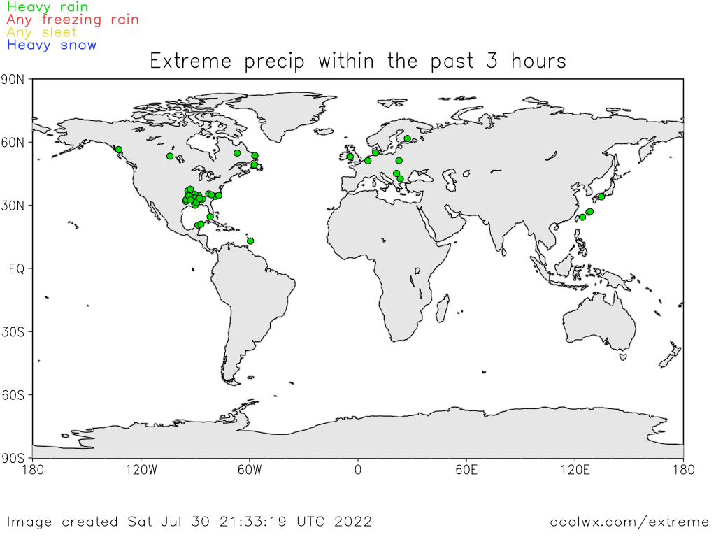 Extreme & Weird Weather of the World